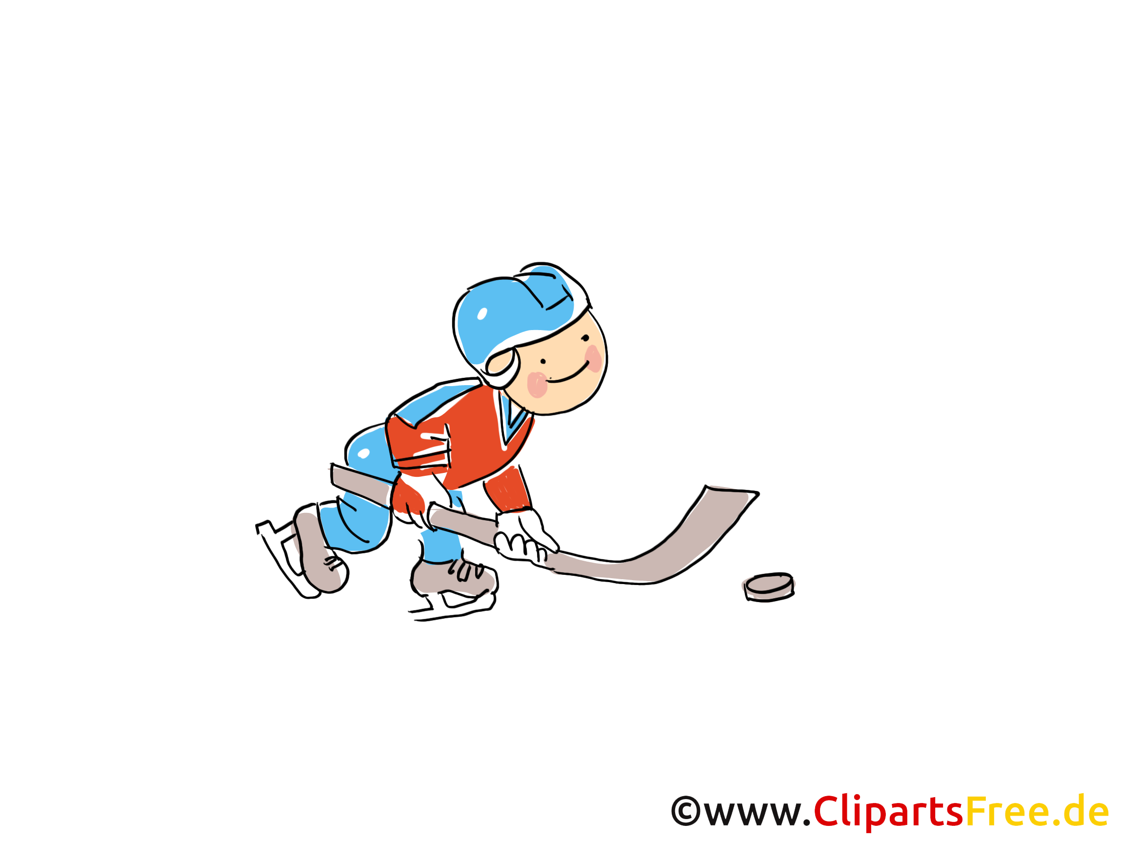 Lustige Eishockey Bilder Cliparts Comic Cartoons Gratis