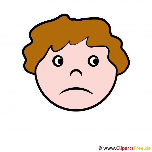 Gesicht traurig