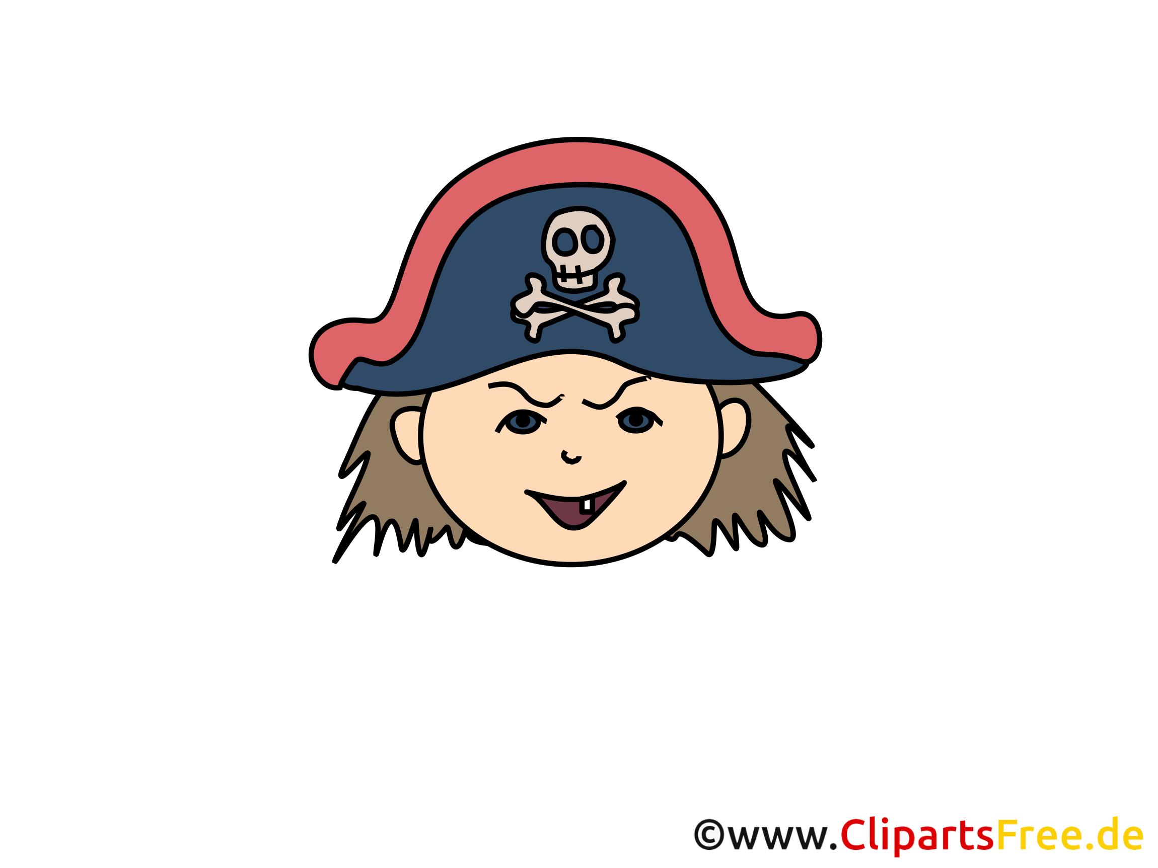 Pirate Clip Art Free Clipart Panda - Pirate Clipart - Png Download  (#1203249) - PinClipart