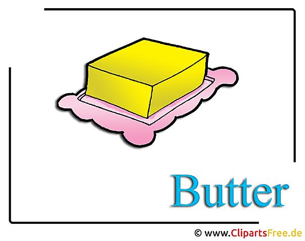 Butter Clipart Essen free