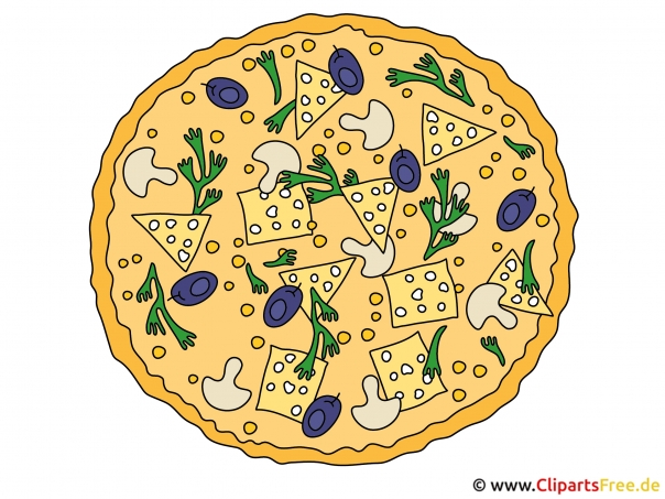 Comic Pizza
