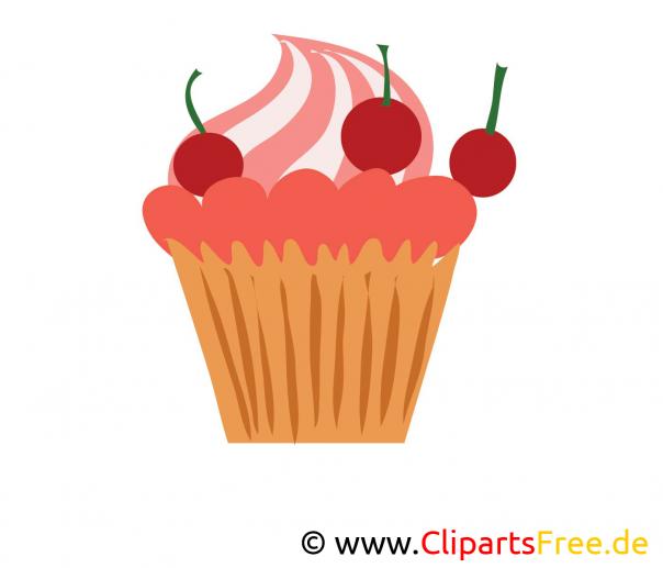 Kuchen Bild Clip Art Image Grafik Illustration Gratis
