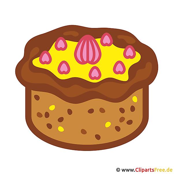 Kuchen Clipart kostenlos