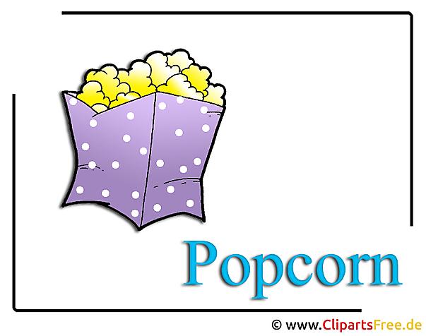 Popcorn clipart voedselvrij