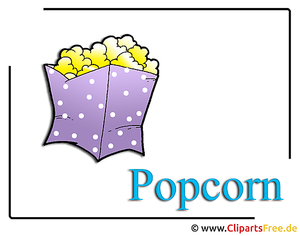 Popcorn Clipart Food free