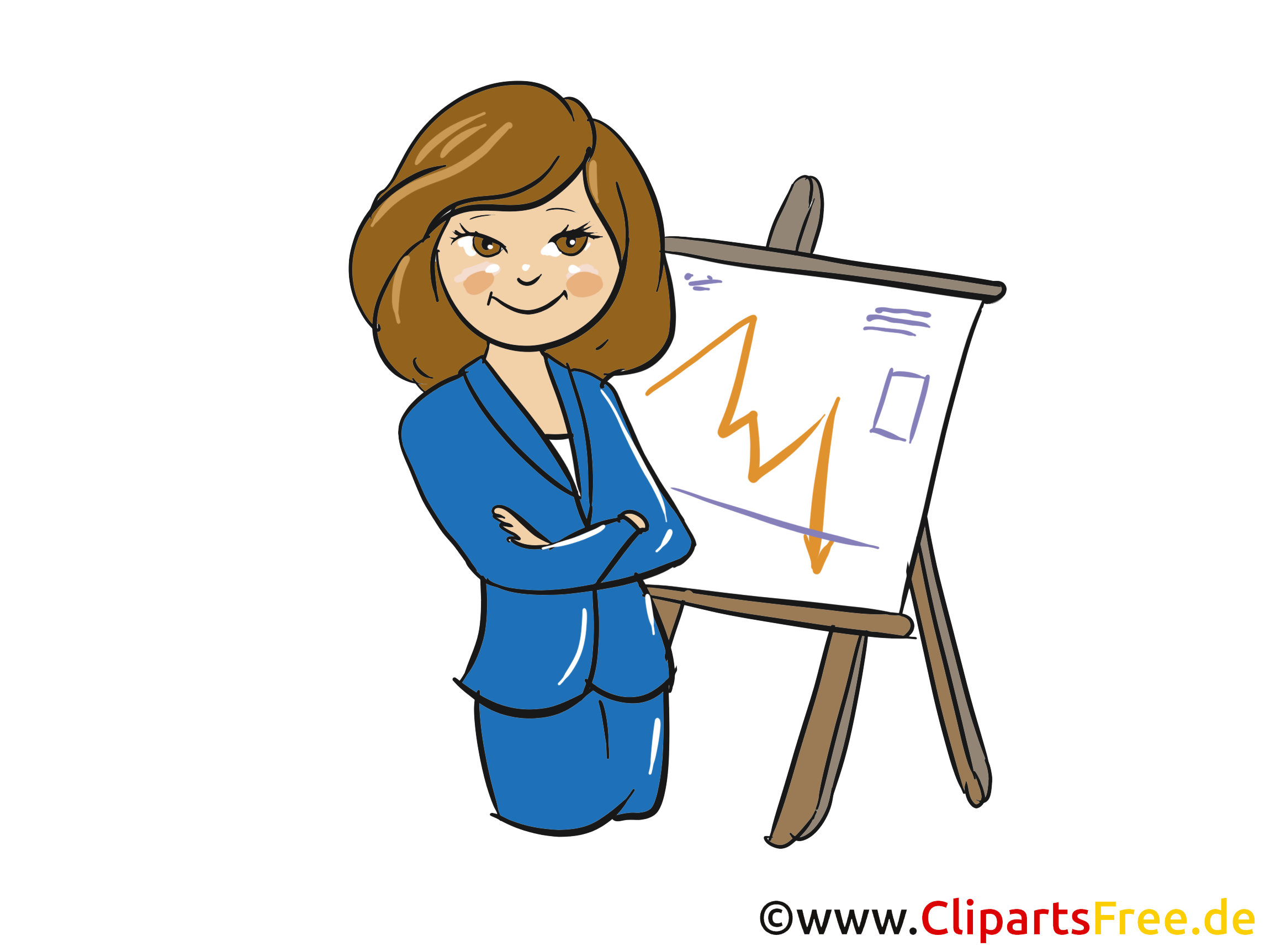 Business Woman Clipart  Clipart, Bild, Grafik gratis