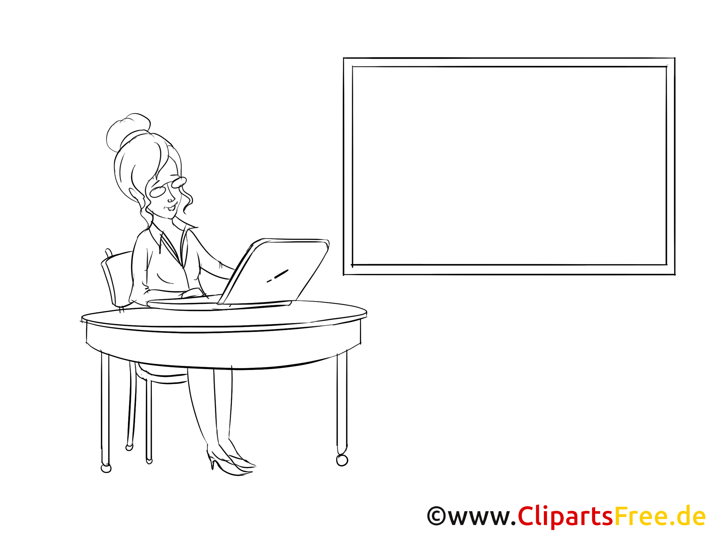 Office Clipart, Bild, Zeichnung, Cartoon