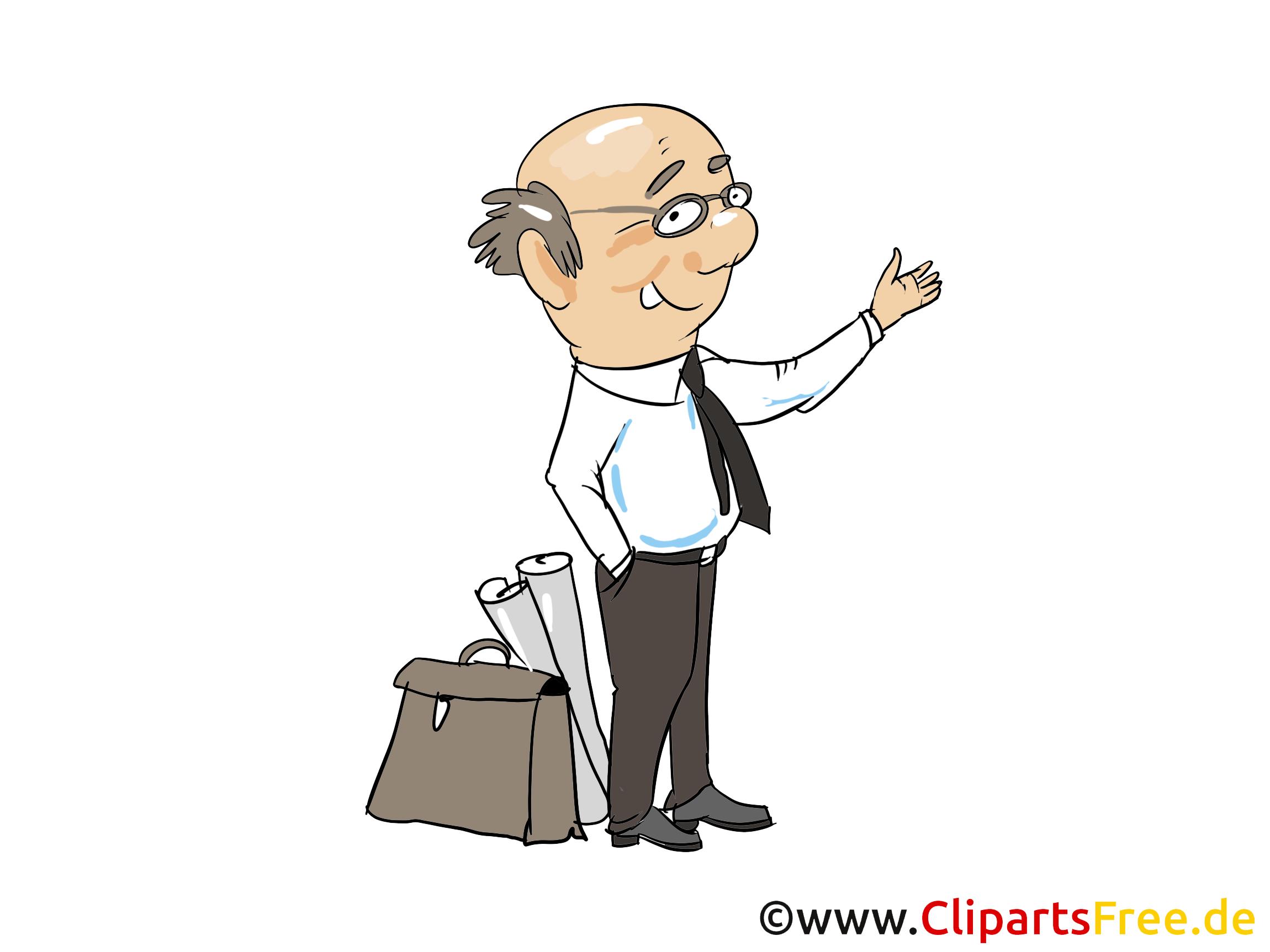 Steuerberater Clipart, Bild, Grafik, Cartoon gratis