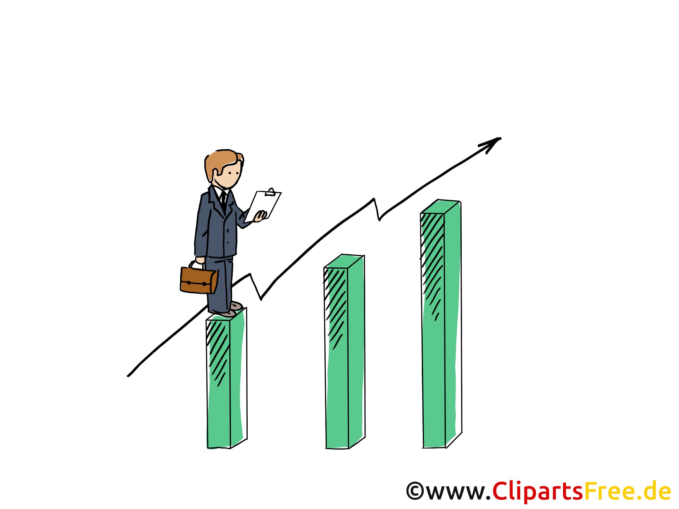 Umsatz Clipart, Grafik, Bild, Cartoon