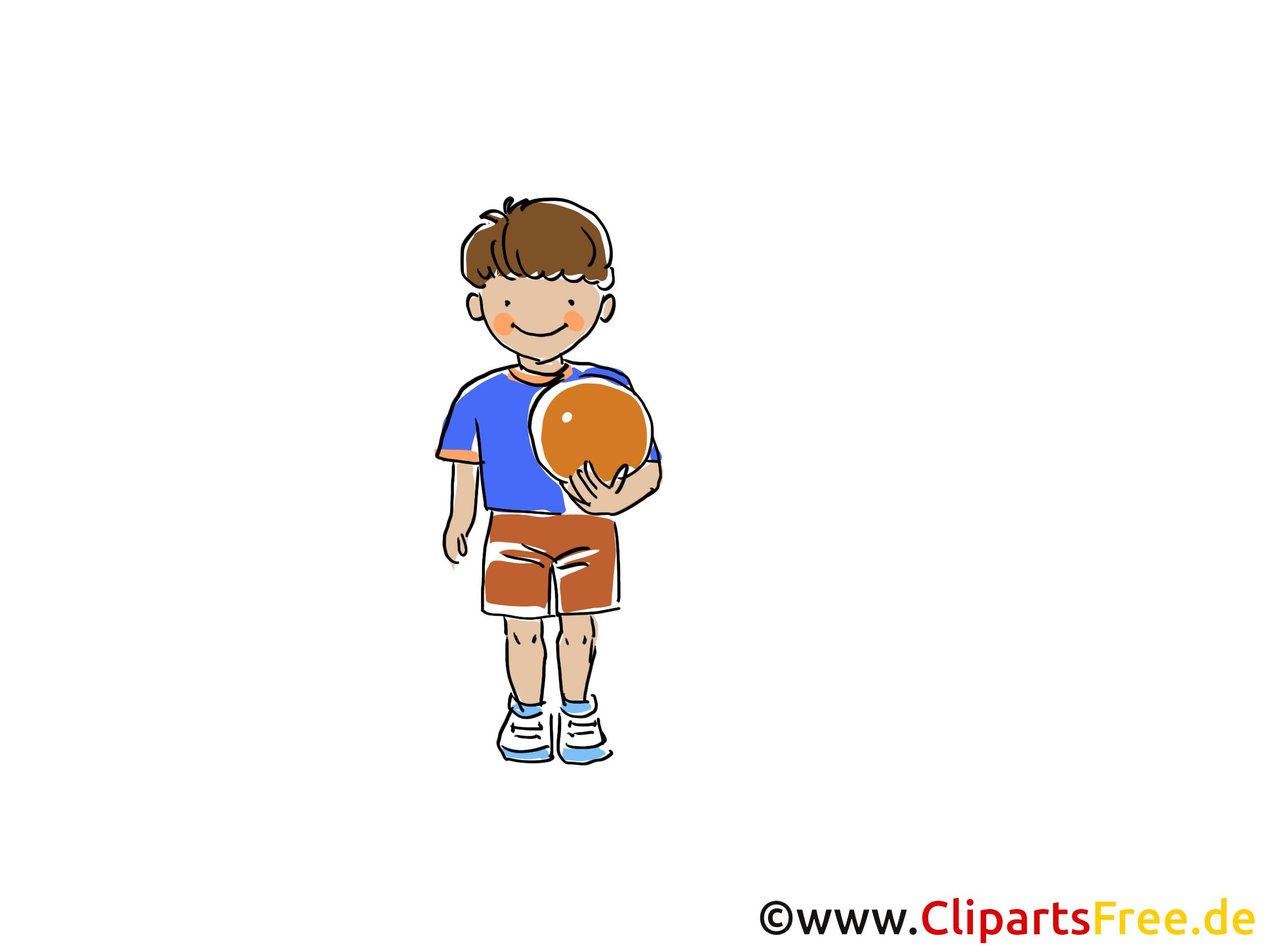 Beachvolleyball Bild, Sport Clipart, Comic, Cartoon, Image gratis
