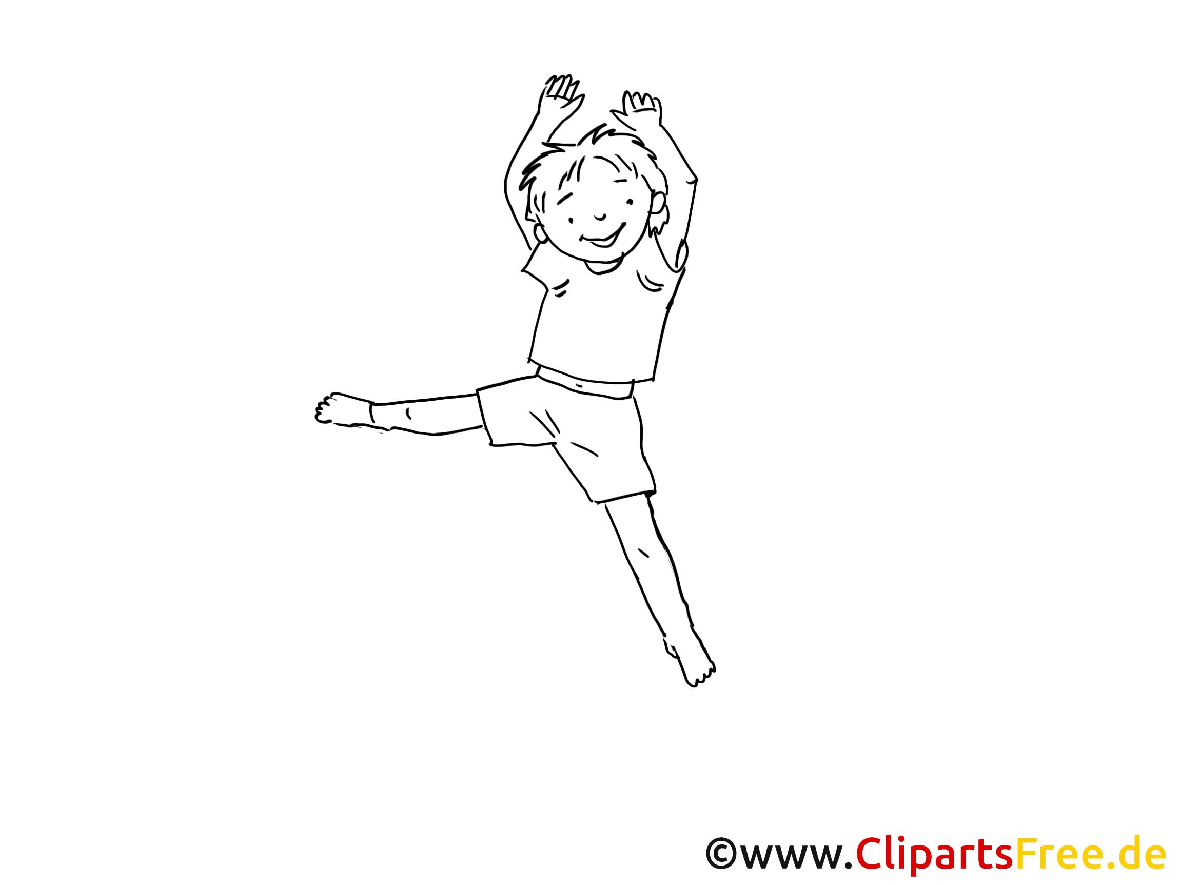Junge Clipart Schwarz Weiß
