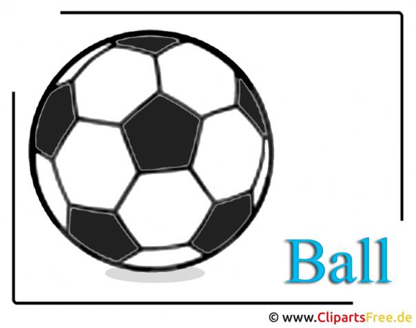 Ball Bild - Fussball Cliparts free