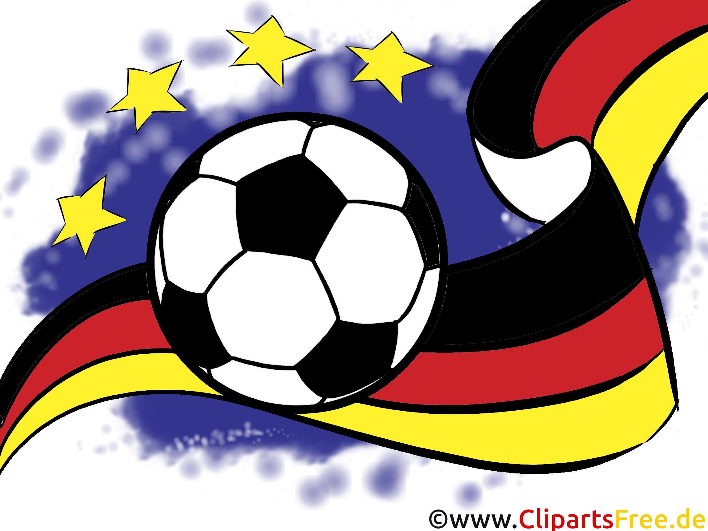Ball Fussball EM WM Bild-Clipart