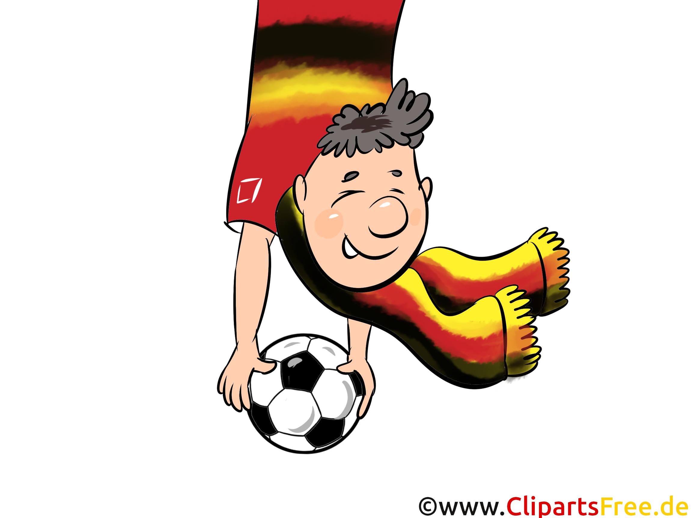Bilder Fussball WM und EM Clipart