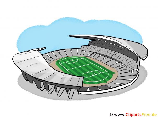 Bilder Fussballstadion