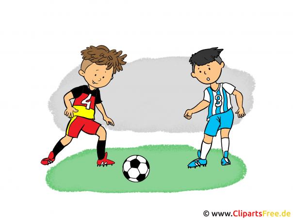 Voetbal Cartoon Clip Art Afbeelding