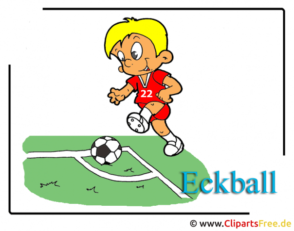Fussball Bilder kostelos - Eckball