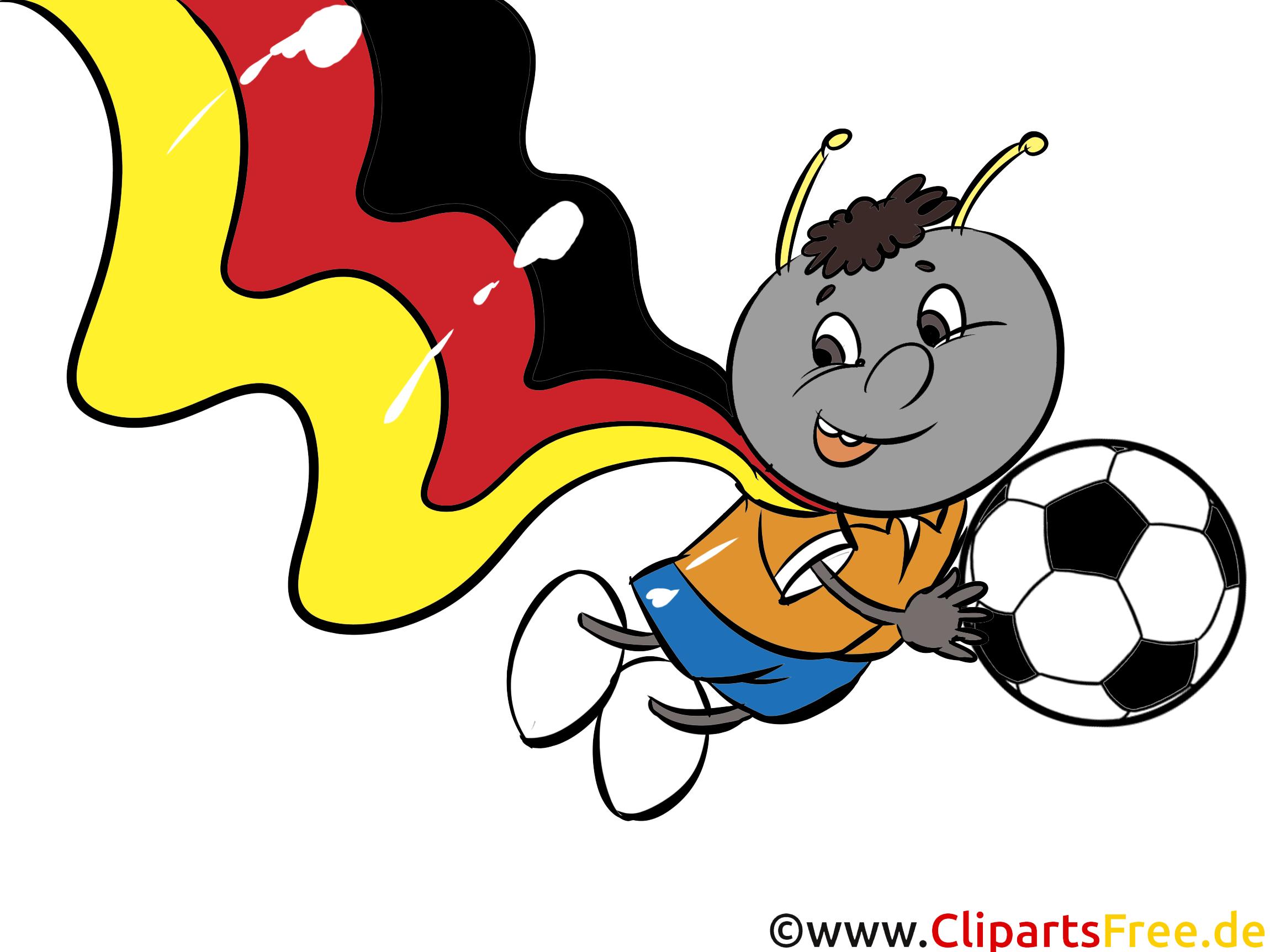 Fußball Bilder lustig als Cartoons