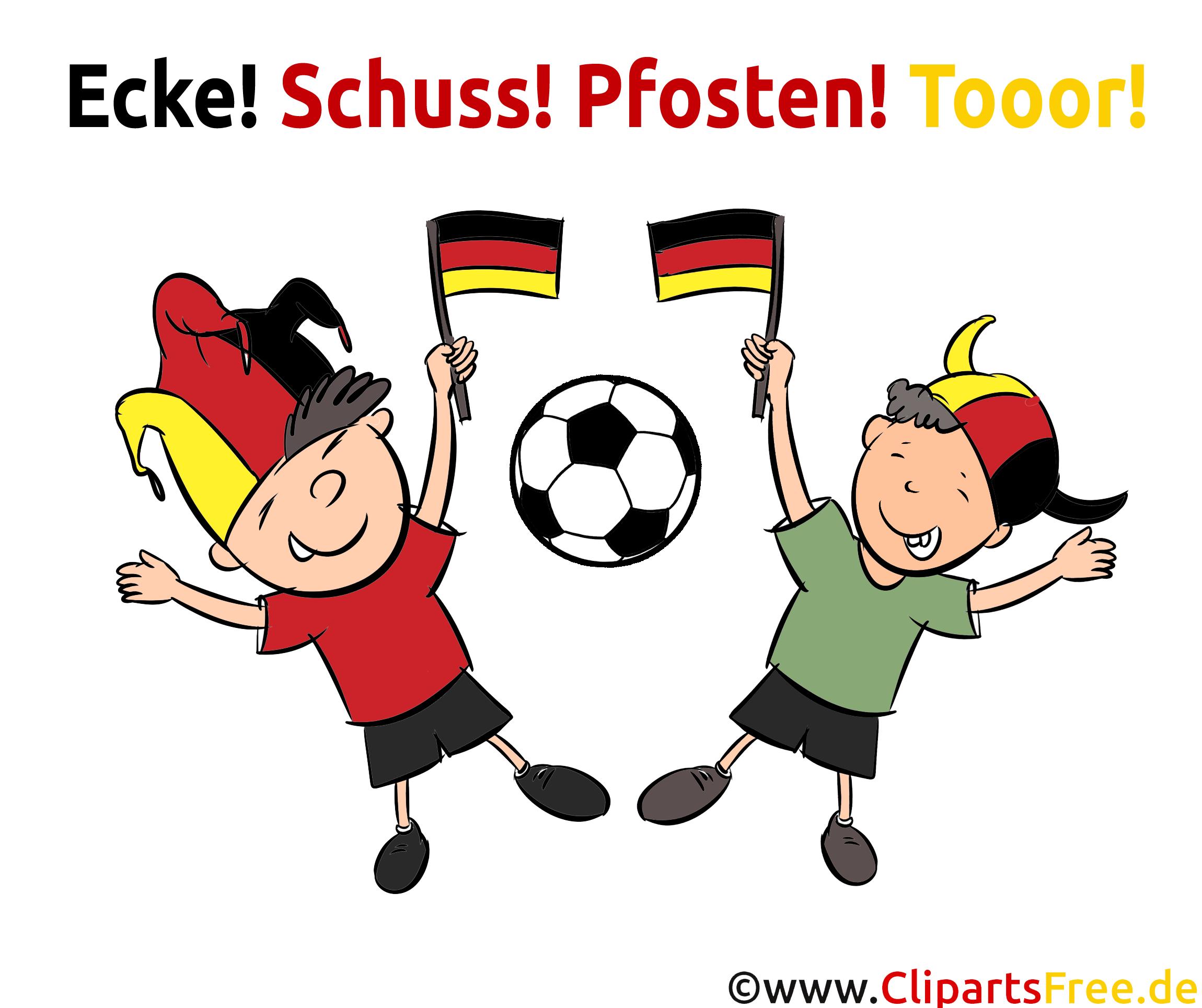 Fußball Bilder und Cliparts zum Drucken