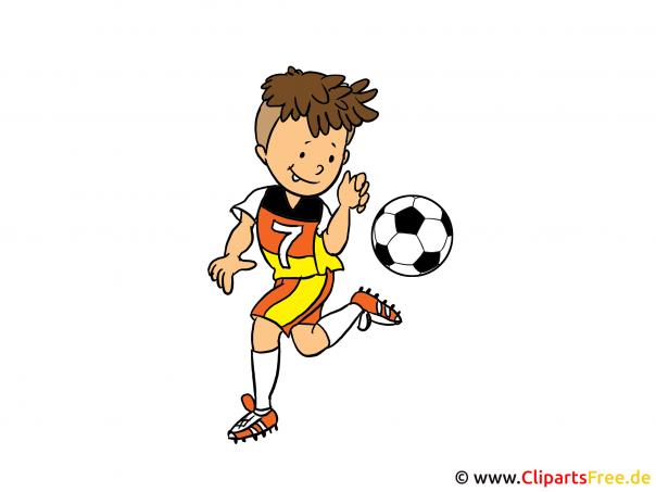 Fussball Deutschland Spieler Clipart