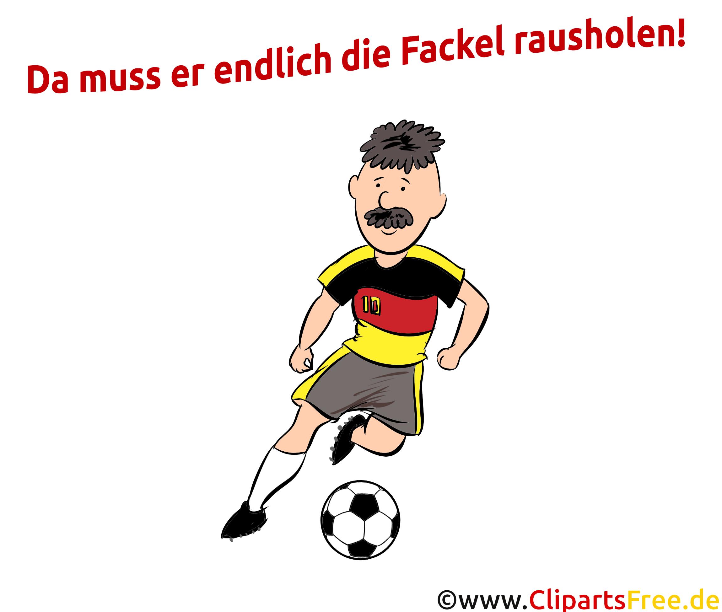 Fußballbilder zu WM und EM - SPort Clipart