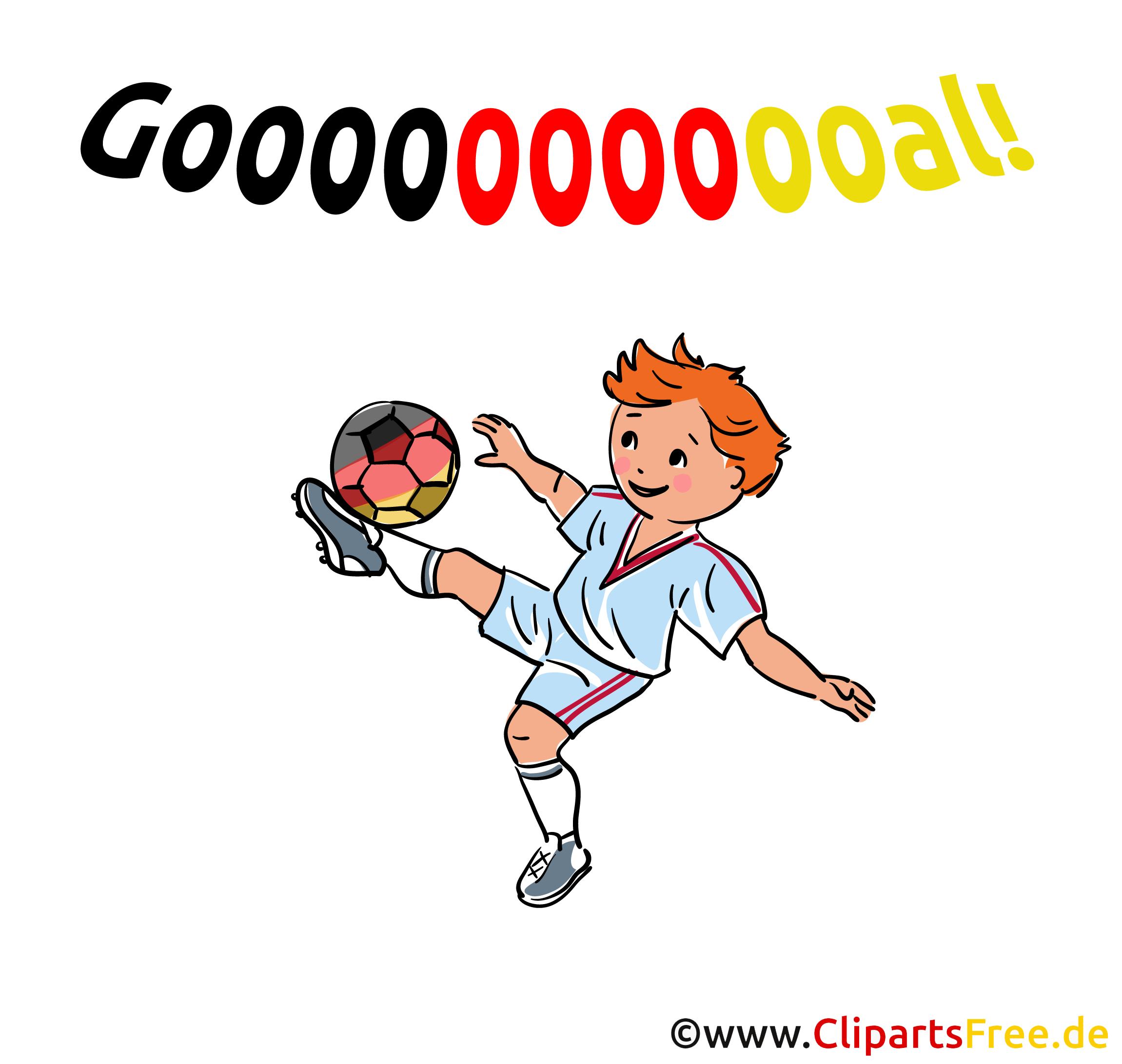 Goal Clipart Football
