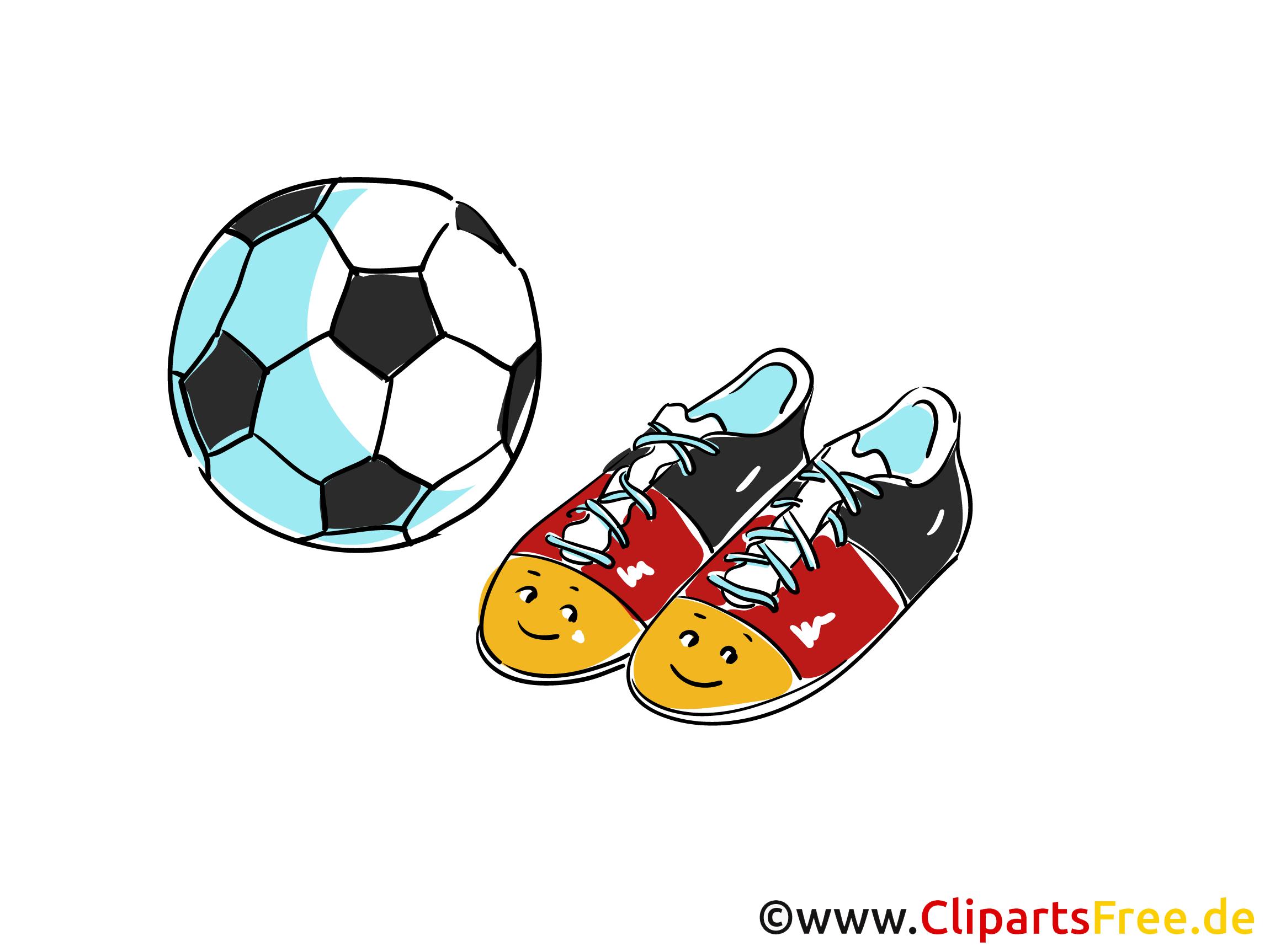 Illustration Fussball
