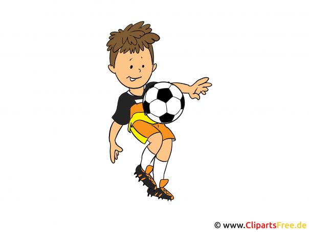 Kindergeburtstag Fussball EInladung gestalten mit unseren Illustrationen