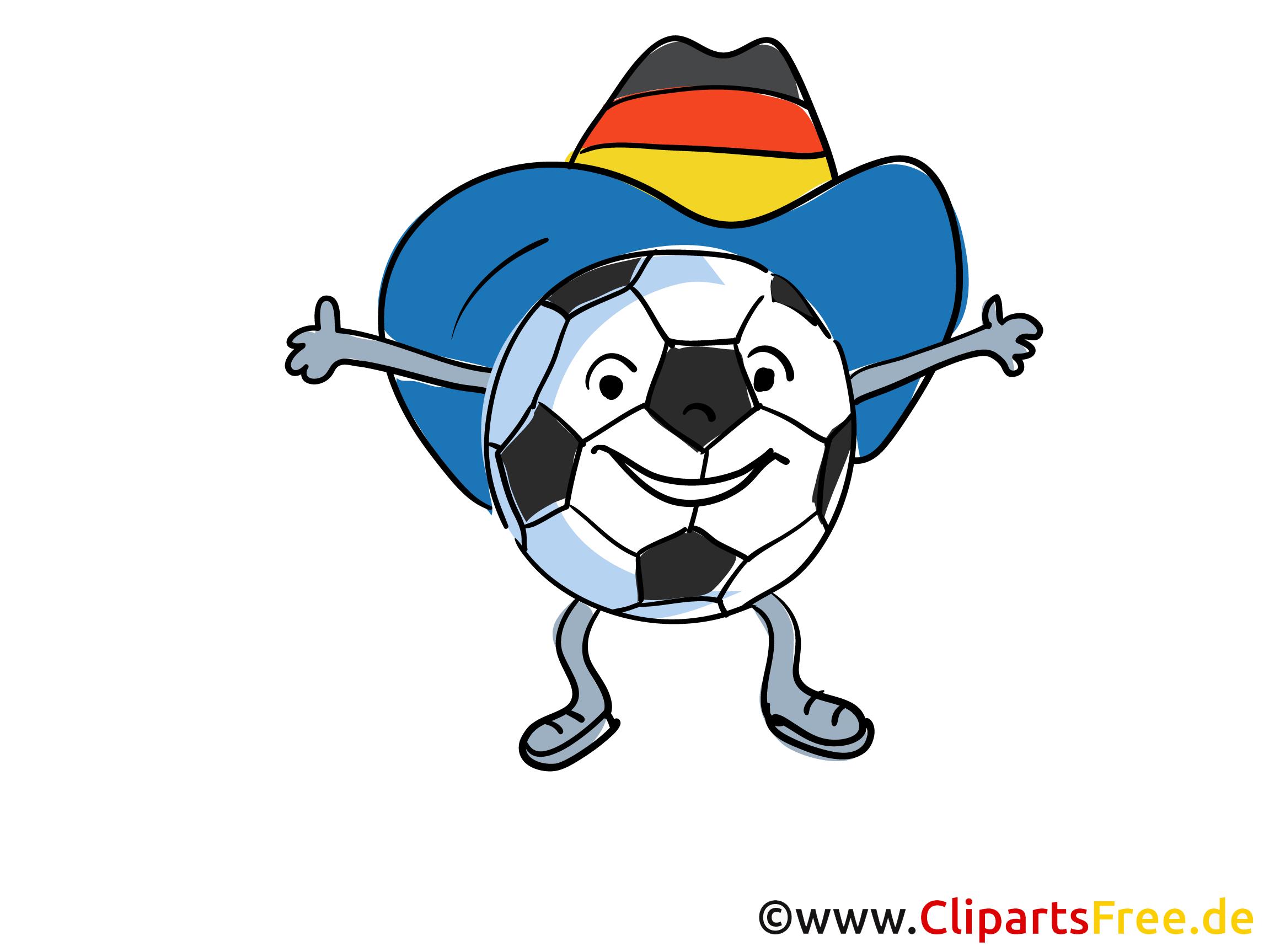 Maskottchen Fussball Bild-Clipart