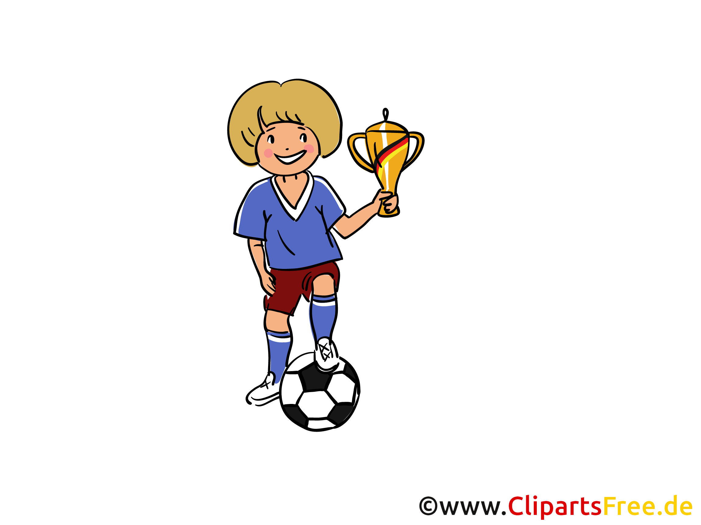 Pokal Clipart, Bild, Illustration gratis