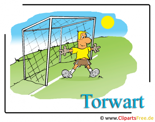 Torwart Illustration Fussball gratis