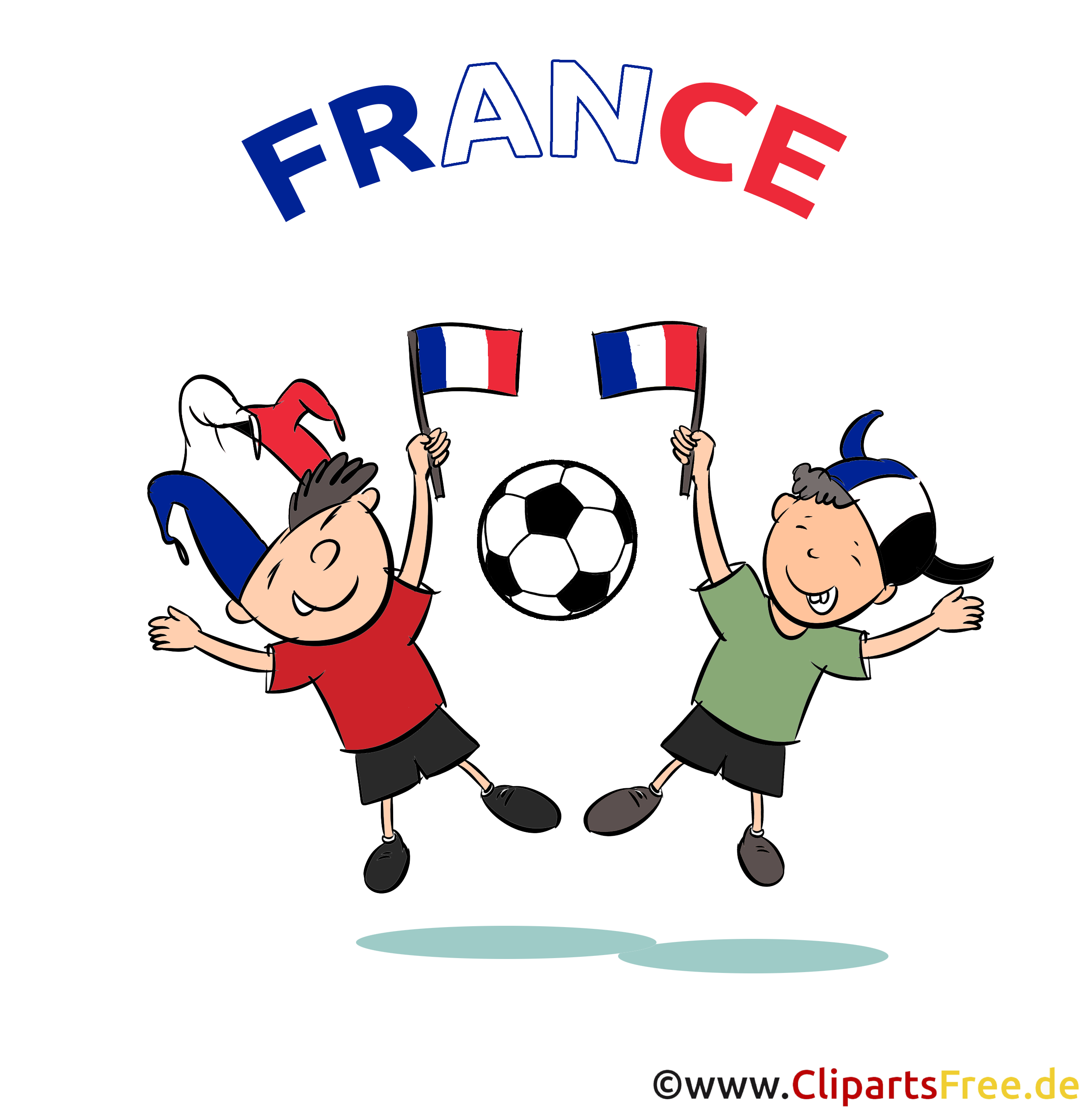 France Football Clipart Free