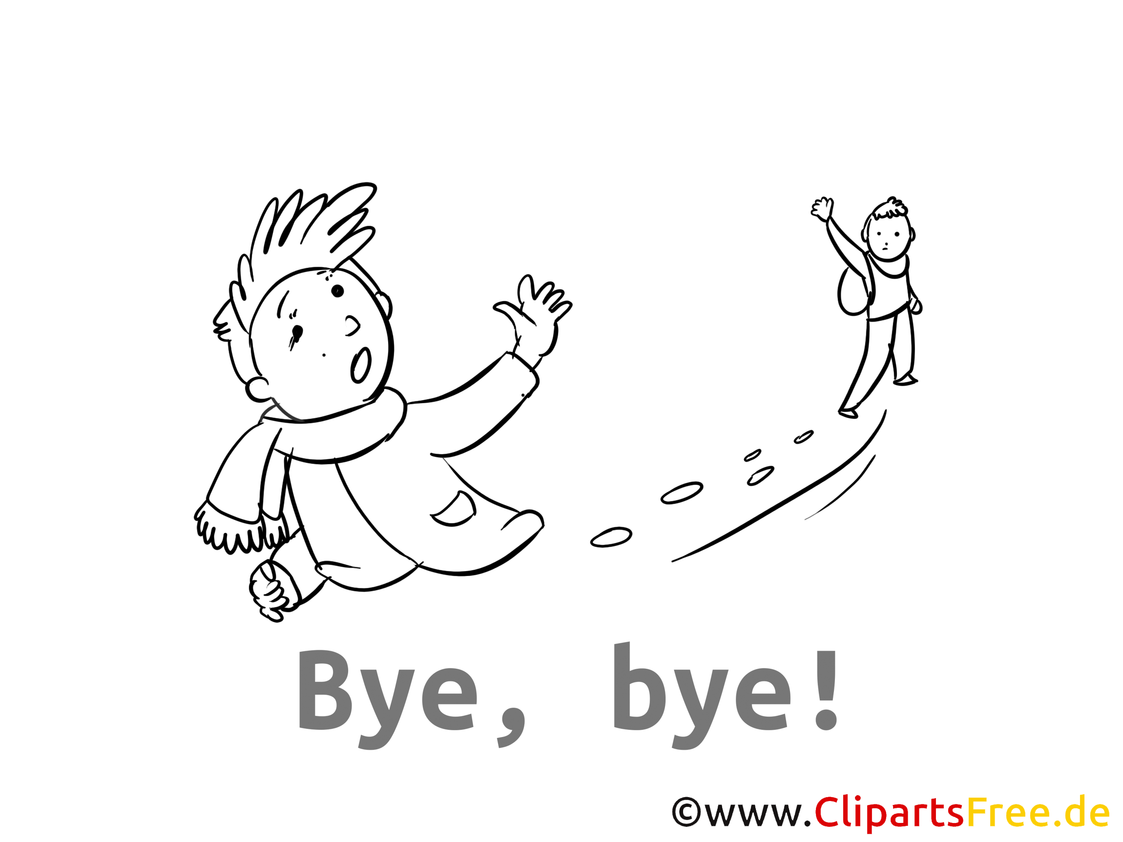 Bye, bye Card, Clip Art, Image