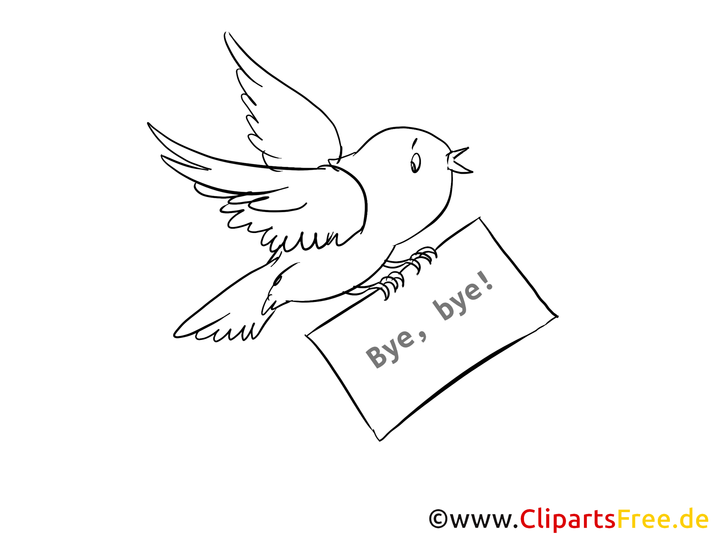 Vogel bild zum ausmalen kostenlos for Bilder zum jahreswechsel kostenlos