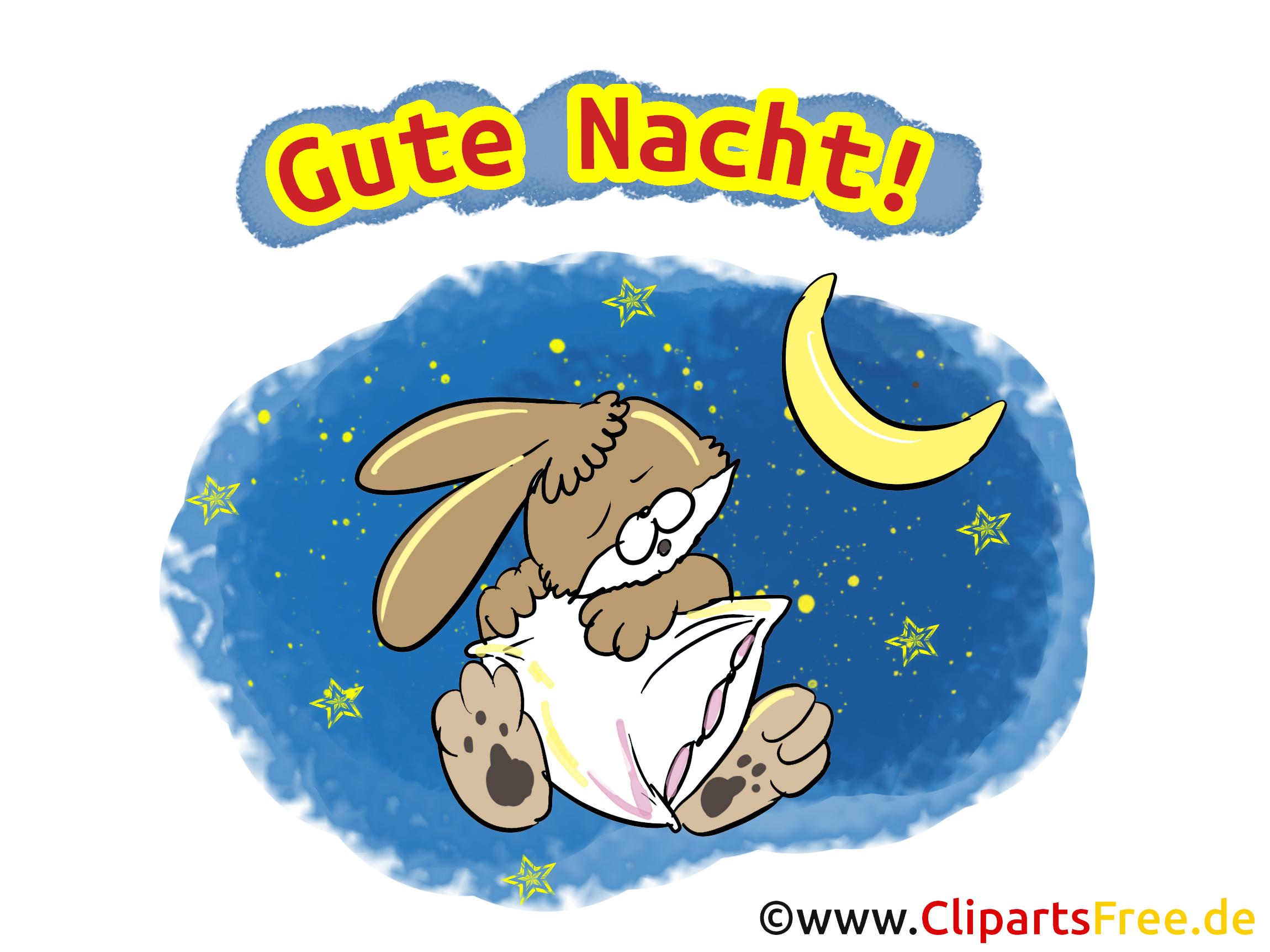 grußkarte gute nacht nachtgrüsse kostenlos