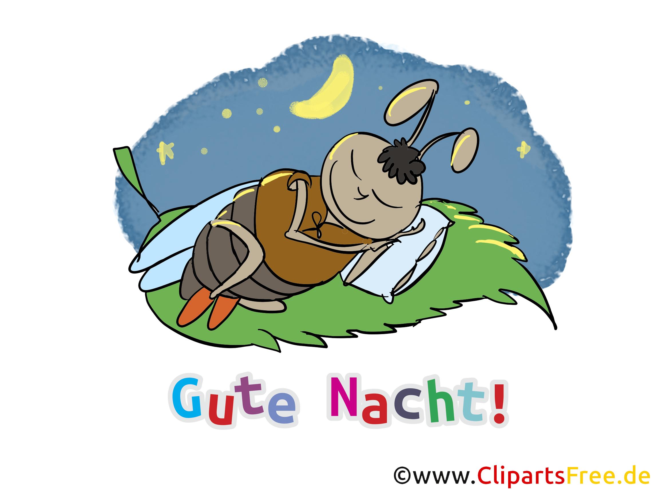Gute Nacht Cartoons