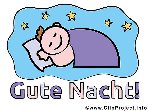 Schlafe Gut Clipart