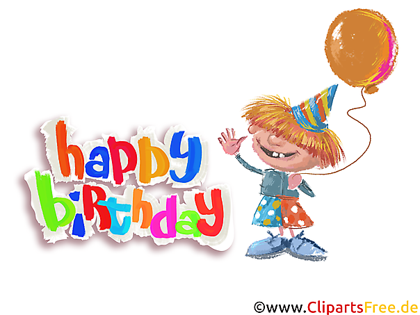 誕生日パーティーのテーマ、クリップアート、画像、カード