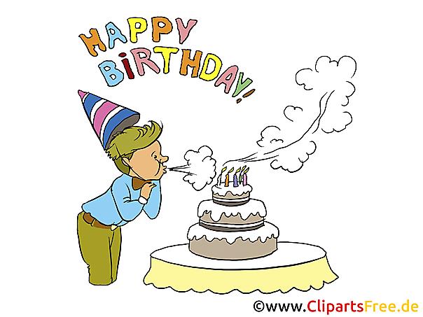 Children Birthday Clip Art