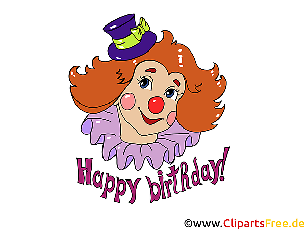Clip Art Birthday free