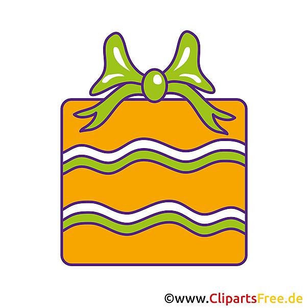 Clip Art Geschenk zum Geburtstag gratis