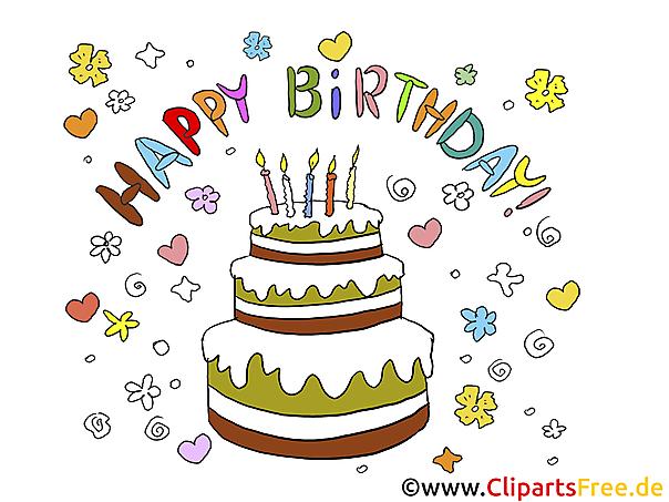 Doğum günü resimleri pastası