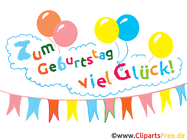 Verjaardag Clipart