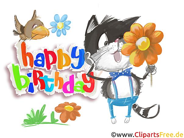 Happy Birthday Bilder kostenlos