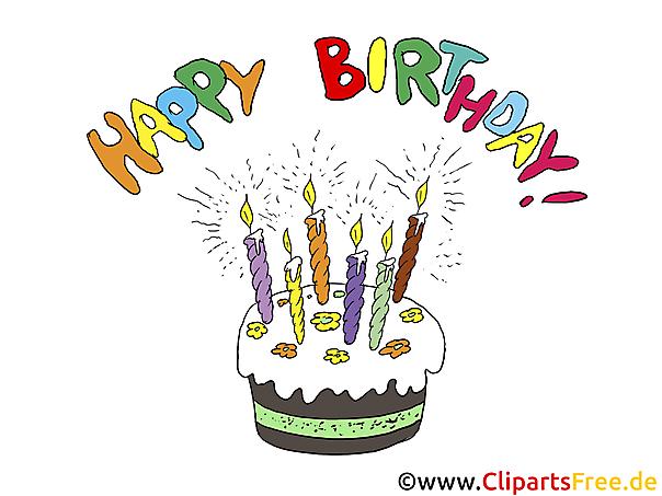 お誕生日おめでとうクリップアート
