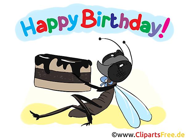 Happy Birthday Karten zum Ausdrucken