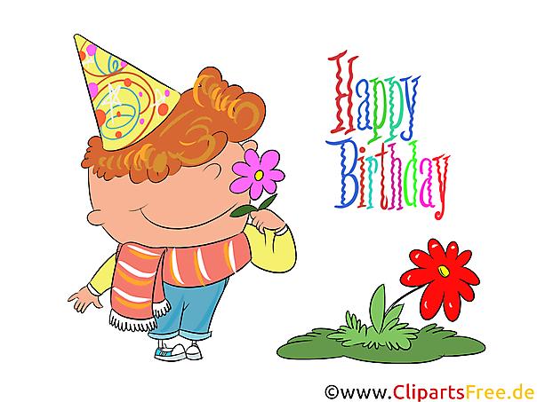 元の誕生日はCLipartとしておかしい、おかしい、無料として願い