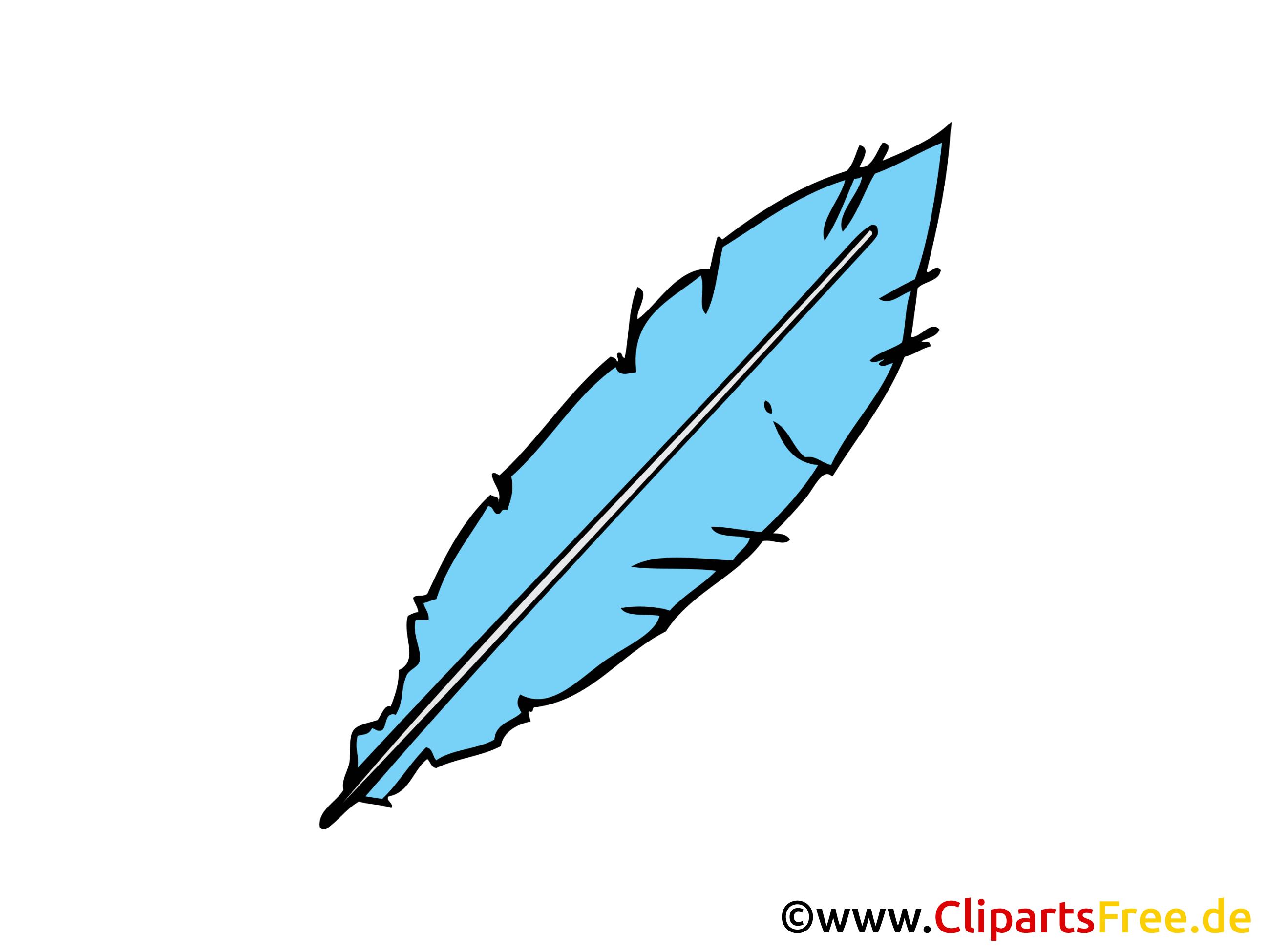 feder zum schreiben bild clipart illustration grafik gratis