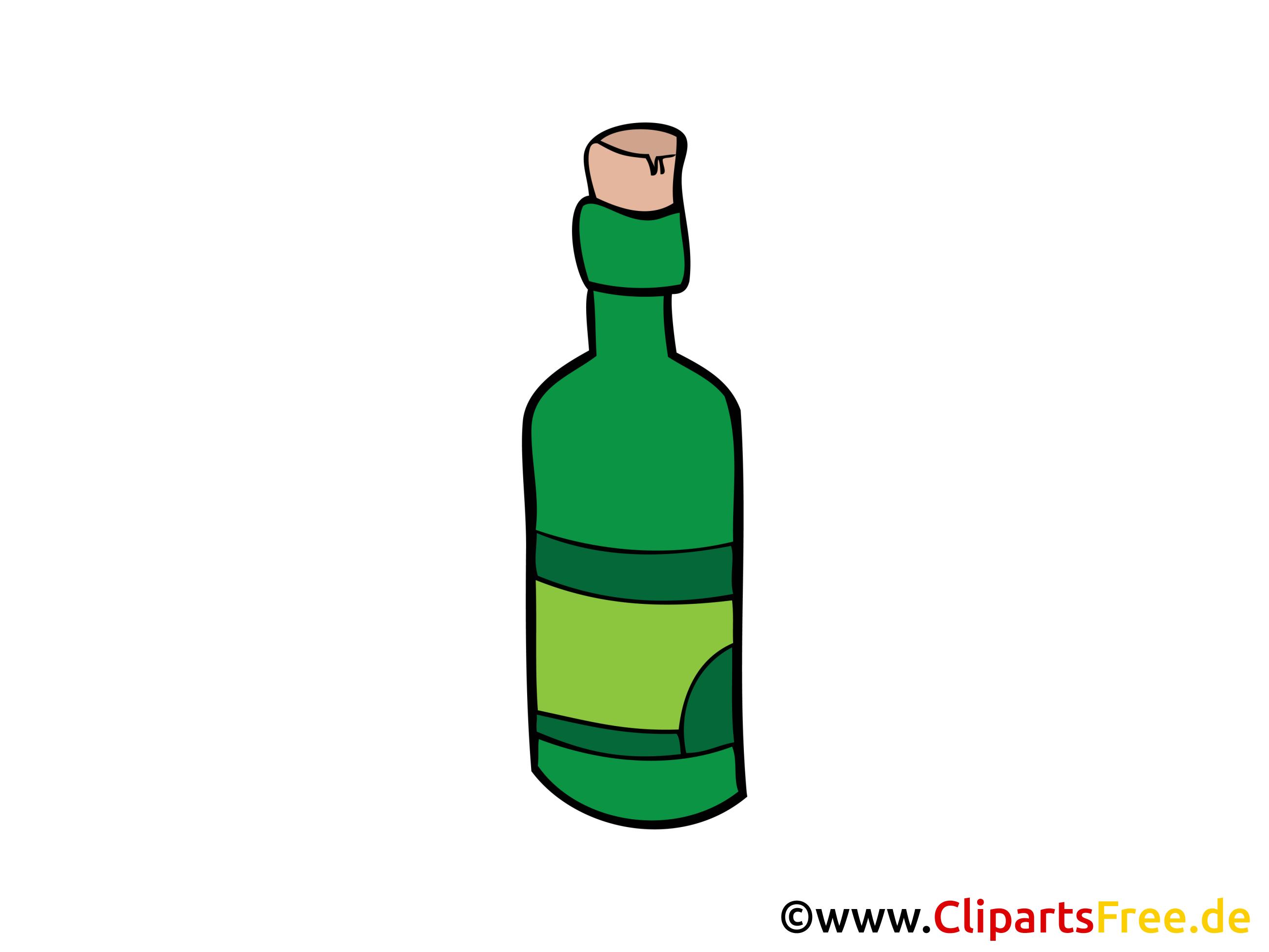 flasche wein bild clipart illustration grafik gratis. Black Bedroom Furniture Sets. Home Design Ideas