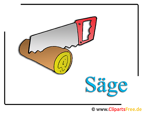 Saege Cliparts Free Holz
